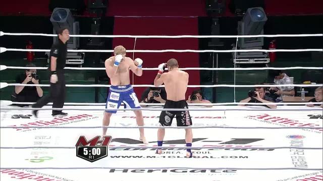 Яне Тулиринта vs Иван Иванов, M-1 Challenge 17