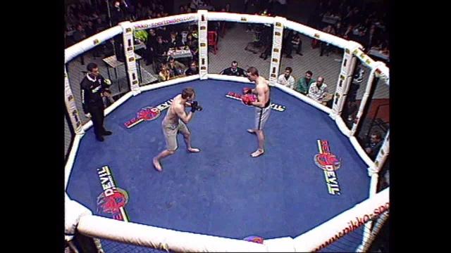 Илья Кудряшов vs Йхитры Шапипов, M-1 MFC European Championship 2000