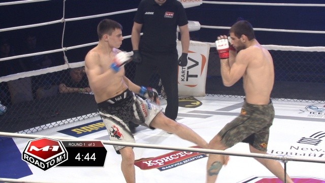 Stanislav Podolsky vs Vladimir Ivanov, Road to M-1 - Saint Petersburg 2
