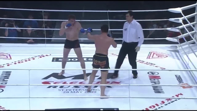 Виктор Немков vs Илья Малюков, M-1 Selection 2009 3