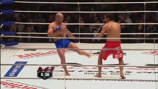 Юрий Ивлев vs Скотт Хьюитт, M-1 Challenge 19