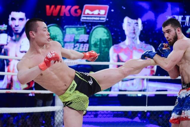 Ахмадхан Боков vs Фу Кангканг, WKG&M-1 Challenge 100