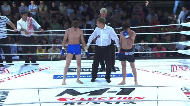 Раджа Нухраддин vs Азамат Кулиев, M-1 Selection 2009 5