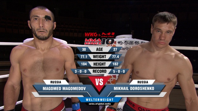 Магомед Магомедов vs Михаил Дорошенко, MMA Series 10: M-1 Online & WKG