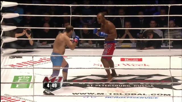 Ансар Чалангов vs Данило Перейра, M-1 Challenge 20