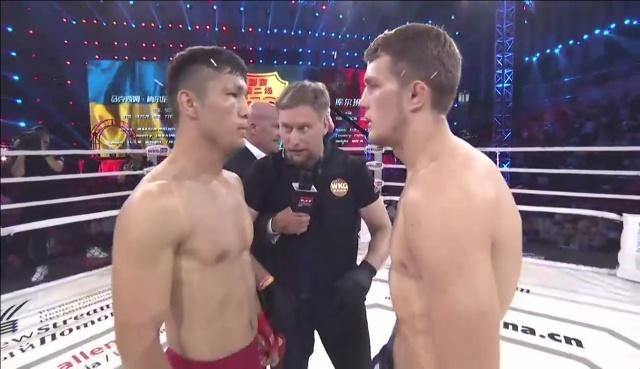 Максим Мельник vs Куэрбаньян, M-1 Challenge 80