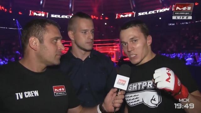 Артем Тарасов: Занимайтесь спортом, даже блогеры дерутся, M-1 Challenge 96