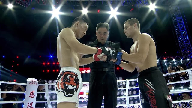 Honggang Yao vs Bohdan Holovatyi, Road to M-1: China