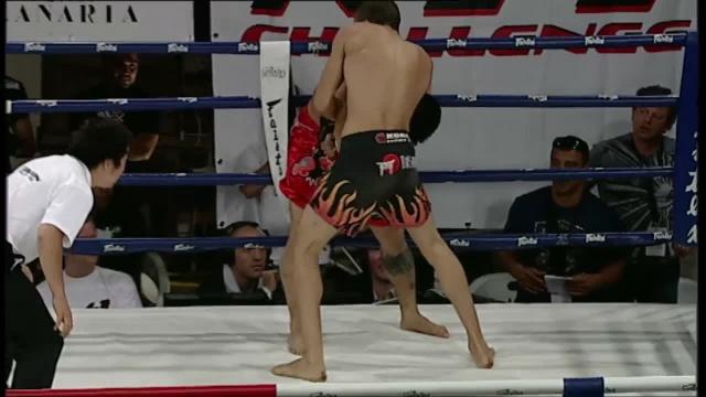 Романо Де Лос Рейес vs Жуан Мануэль Суарез, M-1 Challenge 03