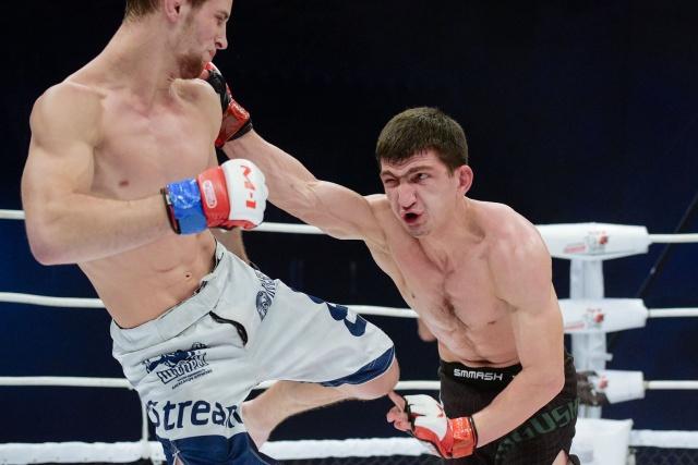 Александр Осетров vs Селем Евлоев, M-1 Challenge 99