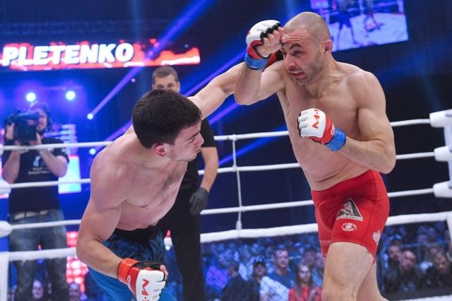 Крис Келадес vs Александр Плетенко, M-1 Challenge 93
