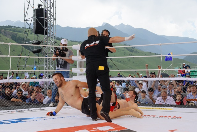 Дарвинг Родригез vs Амирхан Гулиев, M-1 Challenge 69