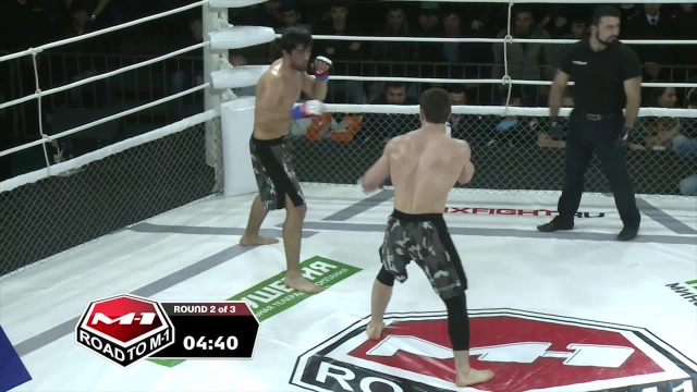 Арсен Баймурзаев vs Хамзат Сакалов, Road to M-1: Ingushetia 2