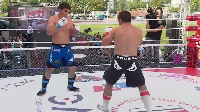 Эльвин Мамедов vs Магомед Магомедов, M-1 Challenge 51