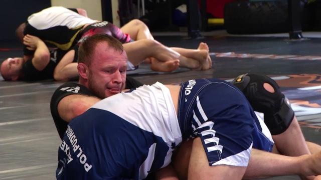 Шлеменко начал подготовку к поединку с бразильцем Сильвой на M-1 Challenge 93