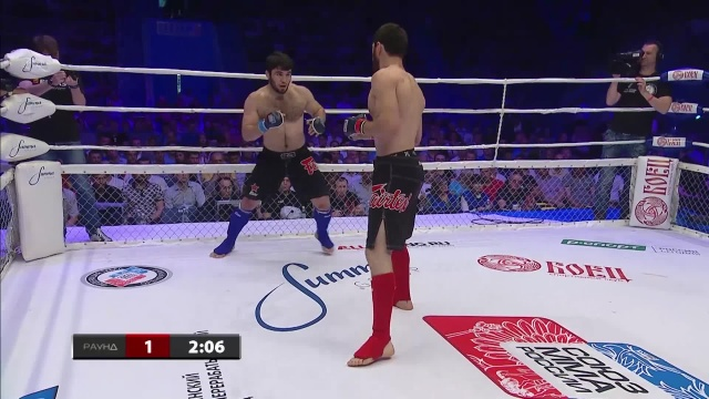 Магомед Шахрудинов vs Магомед Анкалаев, M-1 Challenge 66
