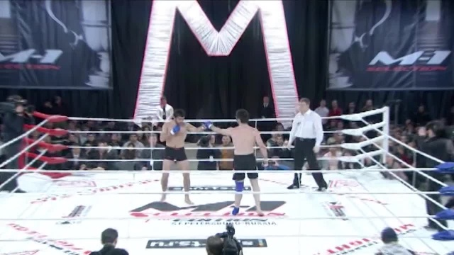 Амирхан Мазихов vs Рустам Ташуев, M-1 Selection 2009 1