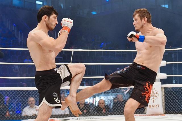 Алексей Валивахин vs Ингисхан Оздоев, M-1 Challenge 76