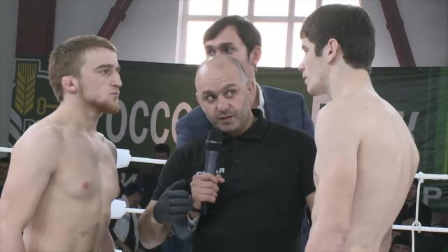 Saygid Abdulaev vs Imran Tsechoev, Road to M-1: Ingushetia 2