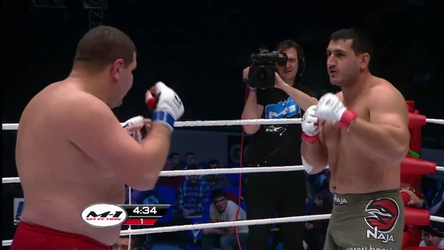Ахмет Султанов vs Владимир Кученко, M-1 Challenge 29