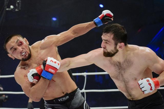 Турсунбек Асылгазиев vs Лом-Али Нальгиев, M-1 Challenge 99