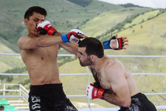 Белек Абдыжапаров vs Мовсар Боков, M-1 Challenge 95