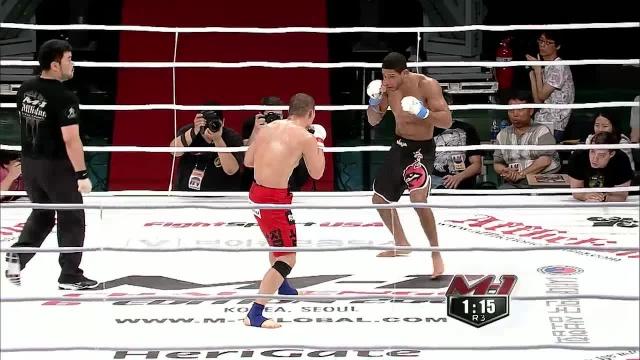 Юи Чул Нам vs Шакрен Диас, M-1 Challenge 17