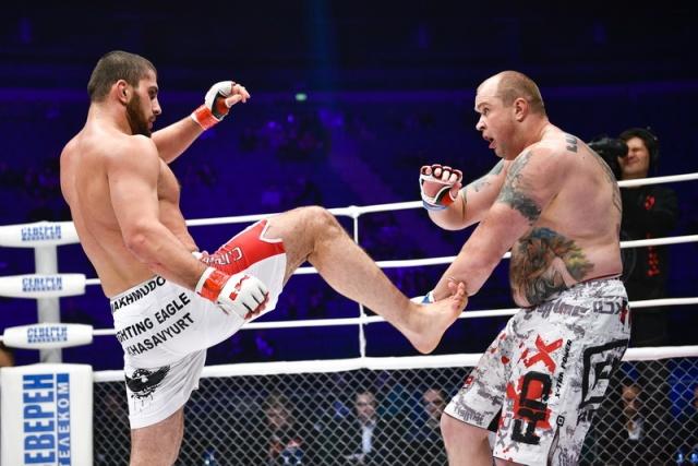 Муслим Махмудов vs Евгений Болдырев, M-1 Challenge 54