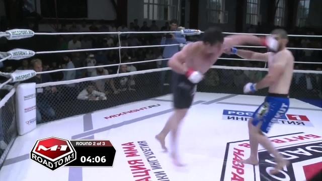 Висхан Эзерханов vs Иса Ханиев, Road to M-1: Ingushetia 4