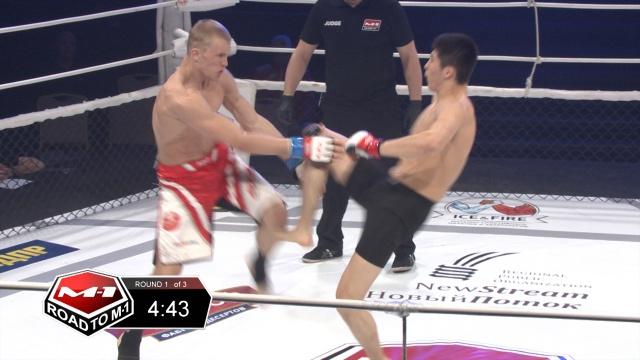 Дарханбек Эргешев vs Александр Хмара, Road to M-1 - Saint Petersburg 2