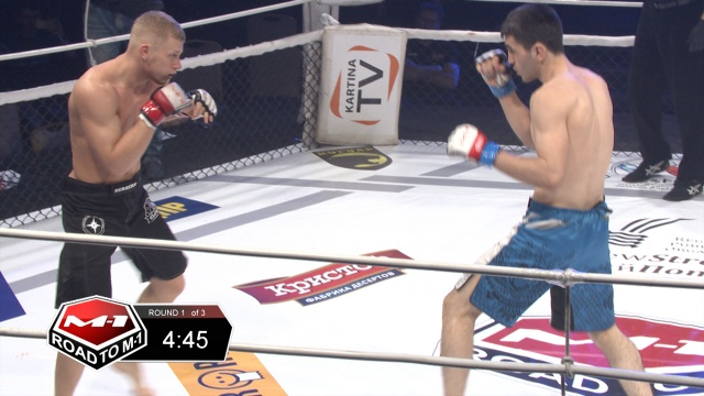 Taymuraz Guriev vs Maxim Pugachev, Road to M-1 - Saint Petersburg 2