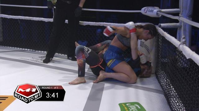 Римма Голубева vs Анна Руденко, Road to M-1 - Saint Petersburg 2
