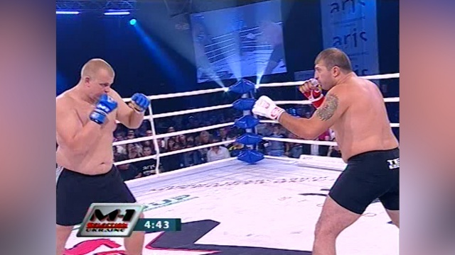 Ваган Божукян vs Игорь Кукурудзяк, M-1 Selection Ukraine 2010 - Clash of the Titans