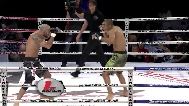 Лусио Линьярес vs Карл Амоссоу, M-1 Challenge 10
