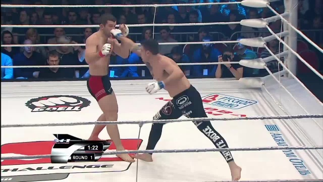 Магомед Султанахмедов vs Плинио Круз, M-1 Challenge 23