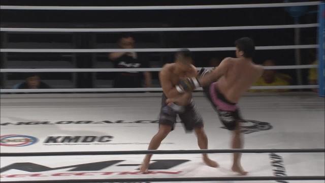 Мен Сик Квак vs Юичиро Оно, M-1 Selection 2011 - Asia Round 1