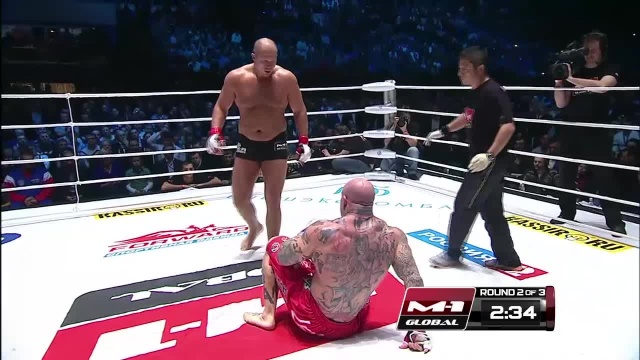Jeff Monson vs Fedor Emelianenko, M-1 Global: Fedor vs Monson