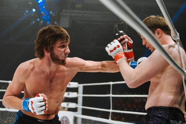 Гаджи Гаджиев vs Юрий Юрченко, M-1 Challenge 56