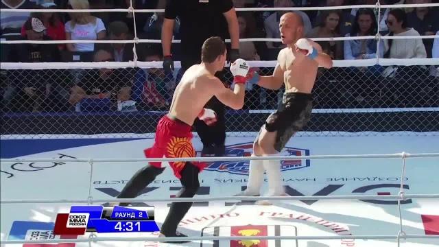 Жамалудин Исрапилов vs Тилек Батыров, M-1 Challenge 51
