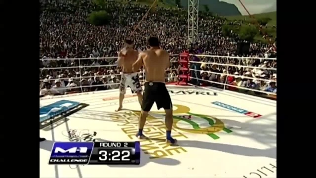 Arbi Agudjev vs Murad Abdulaev, M-1 Challenge 33