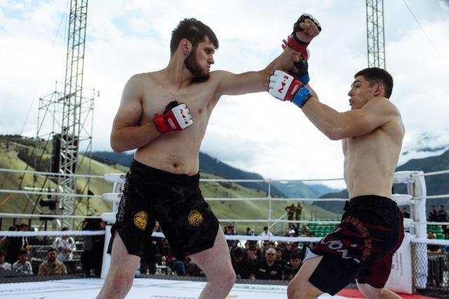Михаил Акилов vs Бекхан Манкиев, M-1 Challenge 95