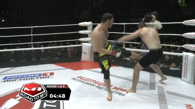 Иван Арацкий vs Амирхан Гулиев, Road to M-1