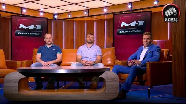 Алексей Махно и Михаил Заяц в студии МАТЧ! ТВ