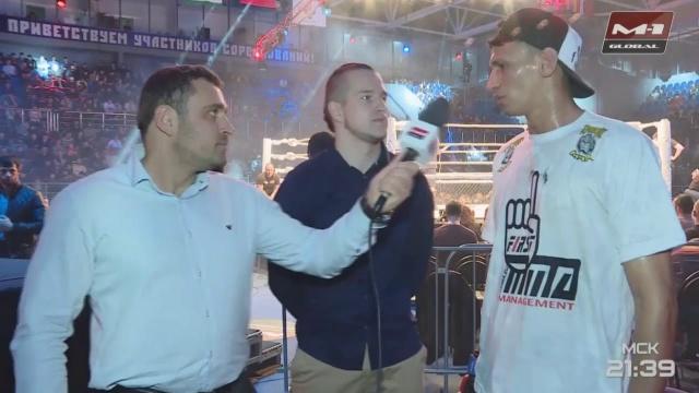 Мичел Сильва: Я готов стать следующим бразильским чемпионом M-1 Global!