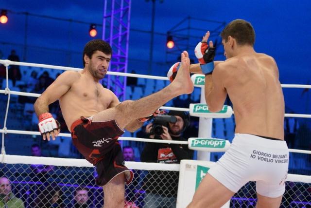 Джорджио Белсанти vs Далгат Кудбудинов, M-1 Challenge 62