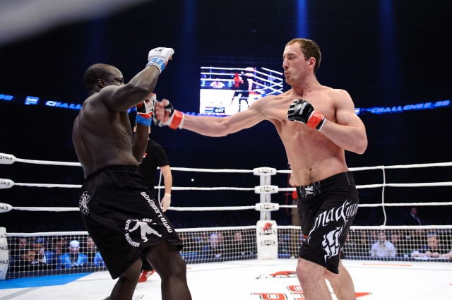 Грегори Бабен vs Сергей Ковалев, M-1 Challenge 38
