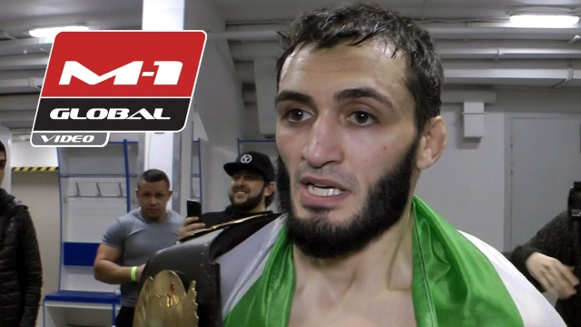 Абукар Яндиев: Пока не понял, что теперь я чемпион | M-1 Global