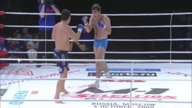 Расул Магомедов vs Алексей Беляев, M-1 Selection 2009 8