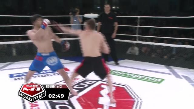 Zahir Azhigov vs Ibragim Mustapaev, Road to M-1: Ingushetia 3