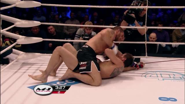 Антон Костищин vs Дэвид Бадриер, M-1 Challenge 28